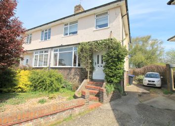 Thumbnail 4 bed semi-detached house for sale in Greenways Crescent, Shoreham-By-Sea