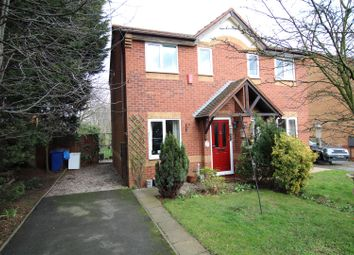 Thumbnail 2 bed semi-detached house for sale in Fontwell Road, Branston, Burton-On-Trent