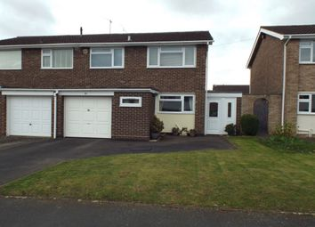 Thumbnail 3 bed semi-detached house for sale in Berryfield Road, Evesham