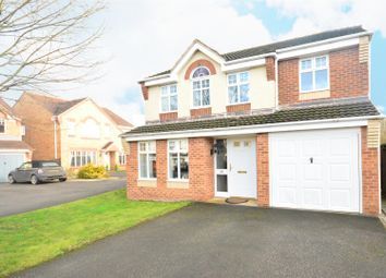 Thumbnail 4 bed detached house for sale in Bayford Drive, Newark