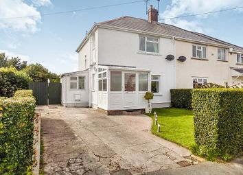 Thumbnail 3 bed semi-detached house for sale in Pendre, Bridgend