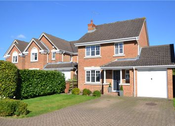 Thumbnail 4 bed detached house for sale in Waterloo Close, Camberley, Surrey
