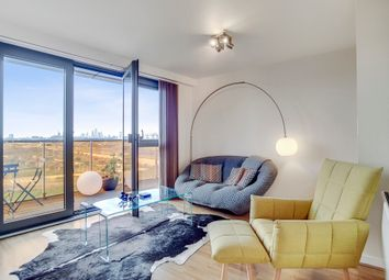 Thumbnail 2 bed flat for sale in Warton Road, London