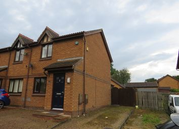 Thumbnail 2 bed semi-detached house for sale in Aintree Close, Bletchley, Milton Keynes