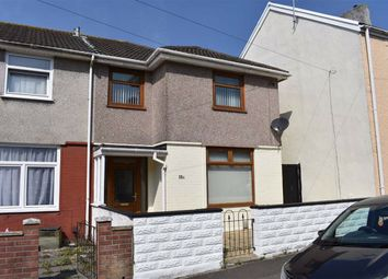 Thumbnail 3 bed semi-detached house for sale in Tymawr Street, Port Tennant, Swansea