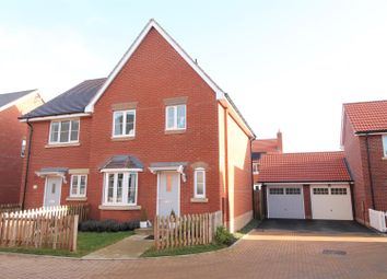 Thumbnail 3 bed semi-detached house for sale in St. Botolph Close, Daventry