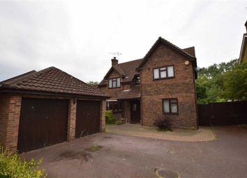 Thumbnail 4 bedroom detached house for sale in Great Leighs Way, Basildon, Essex