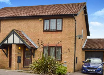 Thumbnail 3 bed semi-detached house for sale in Groombridge, Kents Hill, Milton Keynes