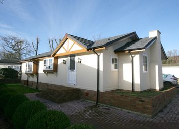 Thumbnail 2 bed mobile/park home for sale in Pilgrims Retreat, Harrietsham