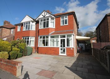 Thumbnail 3 bed semi-detached house for sale in Edale Avenue, Urmston, Manchester