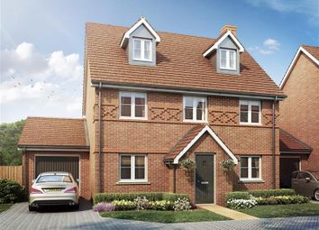 Thumbnail 4 bed detached house for sale in Nugent Close, Church Crookham, Fleet