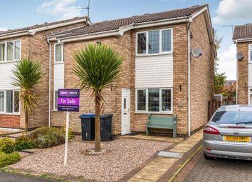 Thumbnail 2 bedroom semi-detached house for sale in Deacon Avenue, Barlestone, Nuneaton, Warwickshire