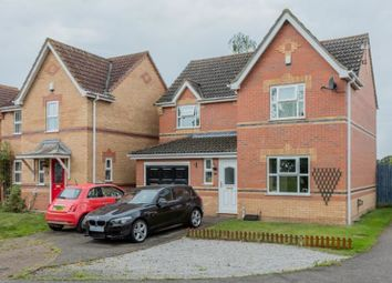 Thumbnail 4 bed detached house for sale in Sunderland Close, Lincoln, Lincolnshire