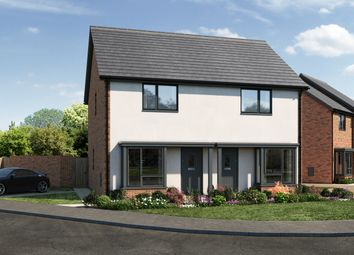 Thumbnail 2 bed semi-detached house for sale in Off Caerleon Road, Dinas Powys