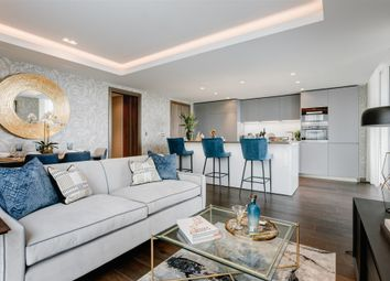 Thumbnail 2 bed flat for sale in Paddington Gardens, North Wharf Road