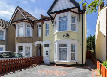 Thumbnail 3 bedroom semi-detached house for sale in Chelmsford Avenue, Southend-On-Sea