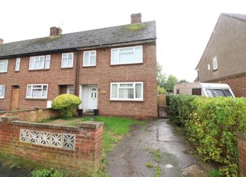 Thumbnail 3 bed end terrace house for sale in St. James Close, Rushden