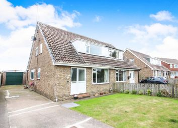 Thumbnail 3 bed semi-detached house for sale in St. Catherines Drive, Leconfield, Beverley
