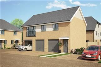 Thumbnail 2 bed flat for sale in Plot 108, Bellway At Qeii, Howlands, Welwyn Garden City, Hertfordshire