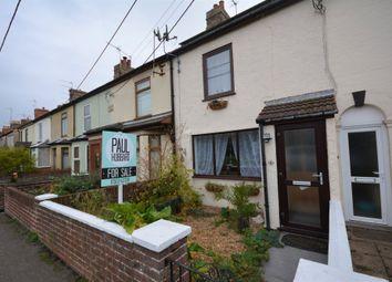Thumbnail 3 bed terraced house for sale in Elizabeth Terrace, London Road, Lowestoft