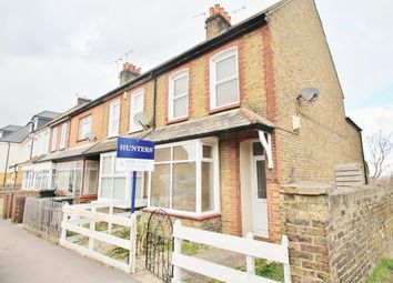 Thumbnail 2 bed end terrace house for sale in Lower Higham Road, Gravesend