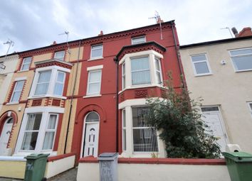 Thumbnail 6 bed terraced house for sale in Trafalgar Road, Wallasey