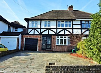 Thumbnail 4 bedroom semi-detached house for sale in Crescent Drive, Orpington