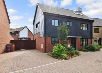 Thumbnail 4 bed detached house for sale in Bluegown Avenue, Leybourne, West Malling, Kent