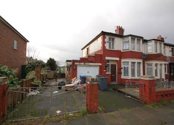 Thumbnail 3 bed end terrace house for sale in Lindale Gardens, Blackpool