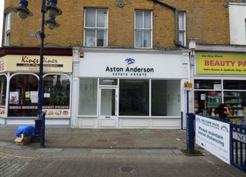 Thumbnail Retail premises to let in King Street, Gravesend, Kent
