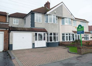 Thumbnail 4 bed semi-detached house for sale in Steynton Avenue, Bexley