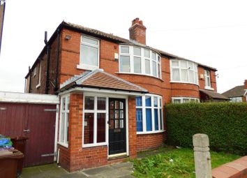 Thumbnail 5 bed semi-detached house to rent in Victoria Road, Fallowfield, Manchester