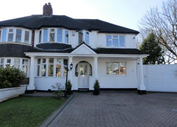 Thumbnail 3 Bed Semi Detached House For Sale In Saxondale Avenue Yardley Birmingham