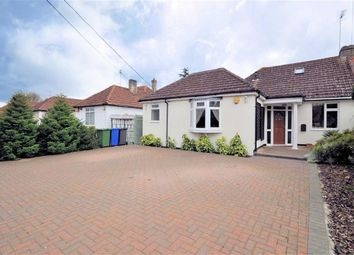 Thumbnail 4 bed semi-detached bungalow for sale in Coppermill Road, Wraysbury, Berkshire