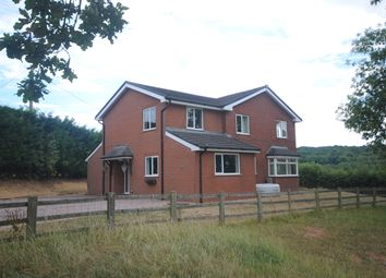 Thumbnail 4 bed detached house to rent in Netherset Lane, Madeley, Crewe