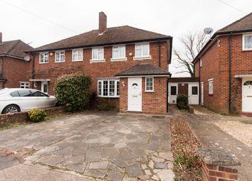 Thumbnail 3 bedroom semi-detached house for sale in Glebe Avenue, Ickenham