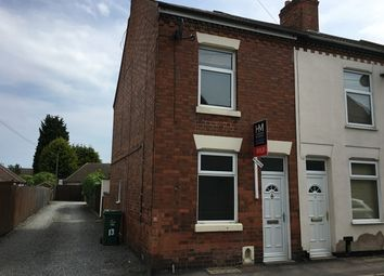 Thumbnail 2 bed end terrace house to rent in Oxford Street, Syston, Leicester