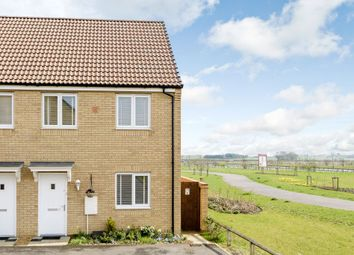Thumbnail 3 bedroom semi-detached house for sale in Flora Close, Peterborough, Cambridgeshire