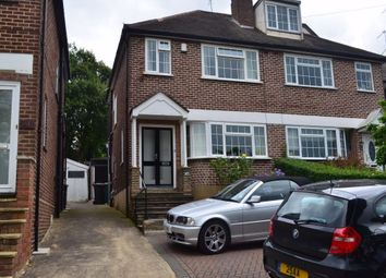 Thumbnail 3 bed semi-detached house to rent in Engel Park, London