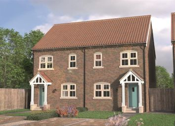 Thumbnail 3 bedroom semi-detached house for sale in Rudds Yard, Station Road, Nafferton, Driffield