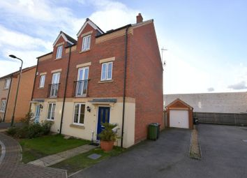 Thumbnail 4 bed semi-detached house for sale in Whitby Avenue, Eye, Peterborough