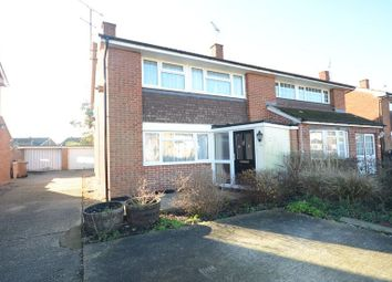 Thumbnail 3 bedroom semi-detached house to rent in Vauxhall Drive, Woodley, Reading