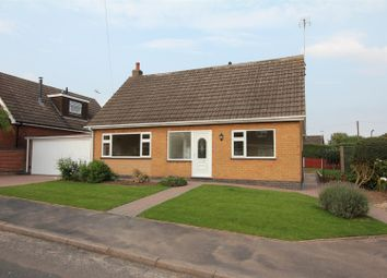 Thumbnail 3 bed detached bungalow for sale in Lovelace Crescent, Elmesthorpe, Leicester