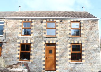 Thumbnail 3 bed semi-detached house for sale in Station Road, Llanmorlais