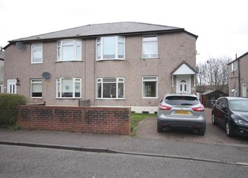 Thumbnail 2 bed flat for sale in Montford Avenue, Kingspark, Glasgow