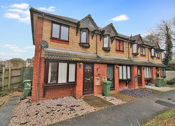 Thumbnail 2 bed end terrace house for sale in Burdock Court, Newport Pagnell, Buckinghamshire