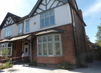 Thumbnail 4 bed semi-detached house to rent in Edward Road, West Bridgford, Nottingham