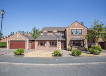 Thumbnail 5 bed detached house for sale in Doeford Close, Culcheth, Warrington