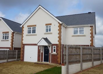 Thumbnail 4 bed detached house for sale in Cae Gethin, Llanfairpwllgwyngyll