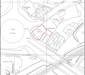 Thumbnail Land for sale in Land At Former Chapel, Carmarthen Road, Cwmbwrla, Swansea